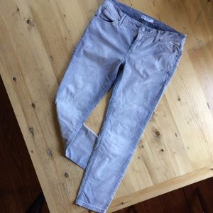 🌞Free People (27) distressed cords in indigo/gray